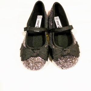 Smartfit dress shoes girls new size 10M velcro